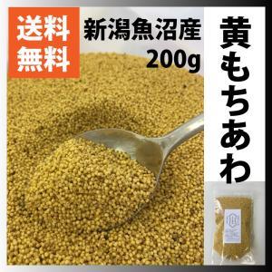 雑穀米 国産 送料無料 もちあわ 200g 新潟魚沼産 日本最古の雑穀 セール