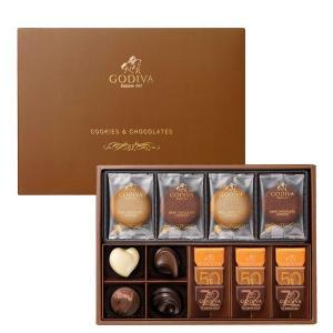 クッキー&チョコレート アソートメント 8枚+13粒|godiva