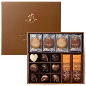 クッキー&チョコレート アソートメント 8枚+21粒|godiva