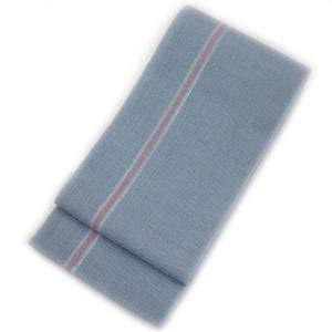 ◇ オトナ浴衣におすすめの逸品 ◇ 涼しさあふれる透け感が魅力  本場西陣 麻 半幅帯  ( 薄空色 ) gofuku-masuya