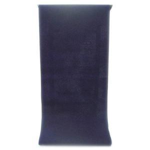男性用 紳士用 メンズ ゆかた  先染め糸の変わり織り   目に鮮やかな濃紺色の縞織り無地(反物)|gofuku-masuya