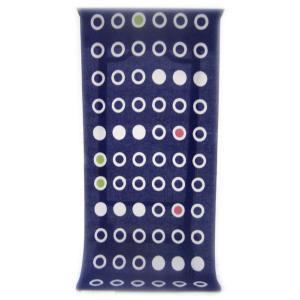 男性用 紳士用 メンズ 注染ゆかた  清涼感あふれる純白の木綿に   桔梗紺色に丸と輪が並んだ幾何学柄(反物・広巾)|gofuku-masuya