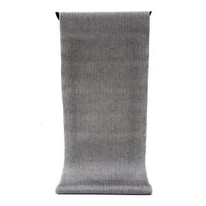 男性用 紳士用 メンズ ゆかた  先染め糸の変わり織り   黒と白の2配色で織るグレーの微塵縞柄(反物)|gofuku-masuya