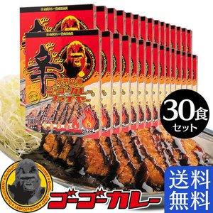 ゴーゴーカレー 辛口 まとめ買い 30箱30食 セット レトルトカレー 詰め合わせ 中辛 激辛|gogo-curry