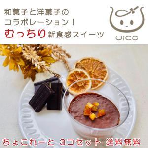 UICO ういこ 3個 チョコレート 名古屋名物 銘菓 ういろう 外郎 和 洋 菓子 プリン スイーツ おみやげ お土産 送料無料 めざまし テレビ いまどき イマドキ gojyo-itsuhashi