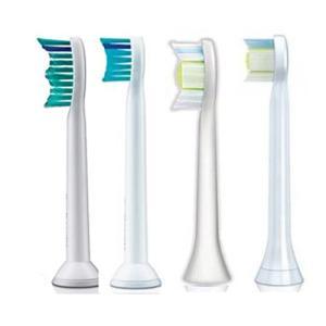 フィリップス 電動歯ブラシ用 替ブラシ ソニッケアー 対応 汎用ブラシヘッド 【4種類4本組】