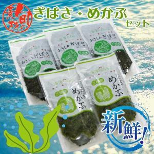 アカモク・メカブ5pセット 栄養たっぷりでヘルシー おいしい海藻セット goko-h