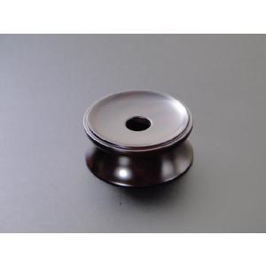 りん台/丸輪台(黒檀製) 3寸|gokurakudo