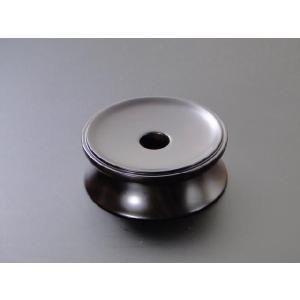 りん台/丸輪台(黒檀製) 3.5寸|gokurakudo