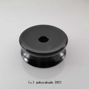 りん台/丸輪台(黒檀製) 4寸|gokurakudo