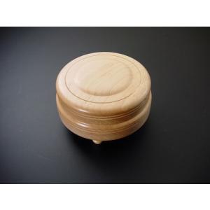 木鉦(もくしょう) 紅葉(モミジ)製丸木鉦 4寸 gokurakudo