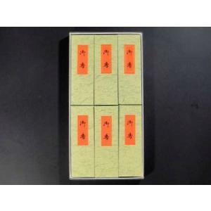 線香 進物用紙箱6個入り 『白壇香』|gokurakudo