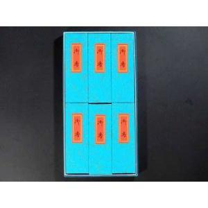 線香 進物用紙箱6個入り 『蘭麝待』|gokurakudo