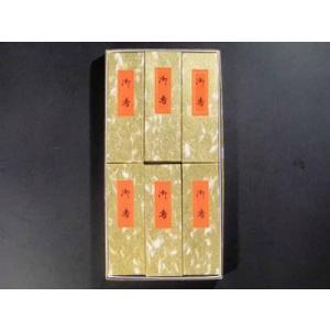 線香 進物用紙箱6個入り 『古代香』|gokurakudo