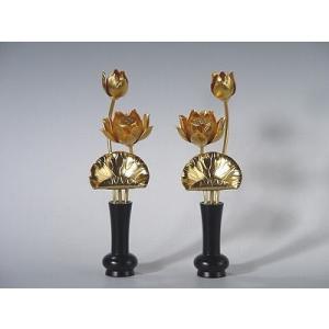常花(じょうか) 超小型 銅地 本金消しメッキ|gokurakudo