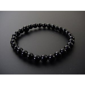 数珠 ブレス 黒オニキス6mm玉