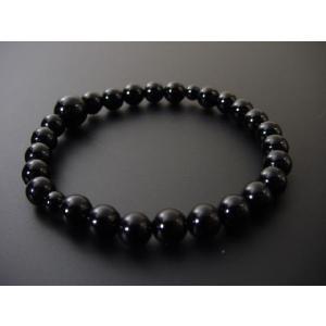 数珠 ブレス 黒オニキス7mm玉