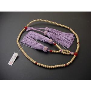 浄土真宗用の正式な数珠(本連数珠)です。 浄土真宗用本連(正式)のお数珠の場合、房の編み方に特徴があ...