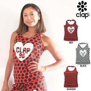CLAP(クラップ) CCホルターネックトップス (キャミソール) ドット(C-DOTS)|golazo