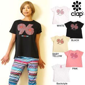 CLAP(クラップ) ドルマン Tシャツ 96 HEART|よく見ると可愛いハートがぎっしりのドルマンティーシャツ|golazo