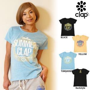 CLAP(クラップ) Tシャツ SUMMER CLAP(サマークラップ)|golazo