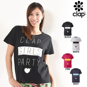 CLAP(クラップ) Tee CLAP GIRLS(Tシャツ)|golazo