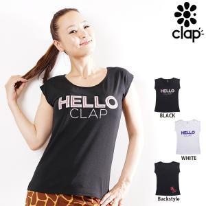 CLAP(クラップ) ストレッチTシャツ HELLO CLAP(Tシャツ)|golazo