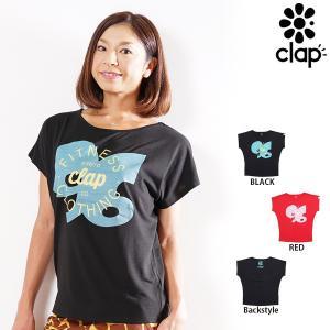 CLAP(クラップ) ドルマンTシャツ CLAP SHOP(Tシャツ)|golazo