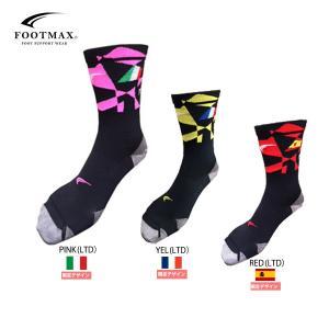 【在庫処分特価】FOOTMAX(フットマックス) ロードバイクレーシングモデル 日本製ユニセックス自転車用靴下 【返品交換不可】|golazo