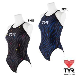 【在庫処分特価】TYR(ティア) レディース SWIM WEAR CLUB TYR レギュラーカットフレックスバック 【返品交換不可】|golazo