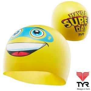 TYR(ティア) シリコン素材のオシャレで超個性的なスイムキャップ SUPER DAY|golazo