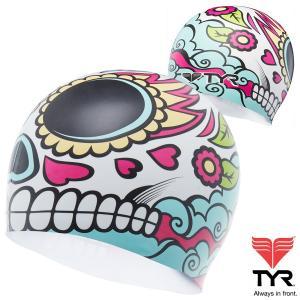 TYR(ティア) シリコン素材のオシャレで超個性的なスイムキャップ LA VENGADORA|golazo