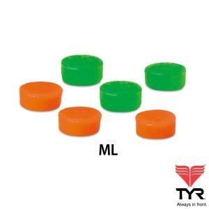 TYR(ティア) ジュニア用 シリコンイヤープラグ(耳栓) 6個入り 【返品交換不可】|golazo