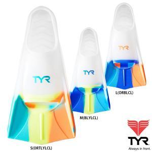 TYR(ティア) グラデーションがオシャレなサイズ別カラーのシリコン素材フィン STRYKER|golazo