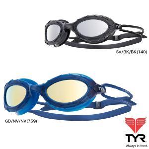 TYR(ティア) ゴーグル ネスト プロ(NEST PRO) ミラーレンズ 国内でも人気のオープンウォーターゴーグルのミラーレンズモデル|golazo