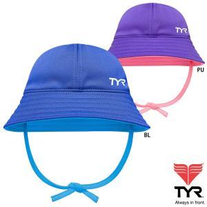 TYR(ティア) キッズ  SWIM REVERSIBLE SUN HAT 子供用帽子(ハット)|golazo