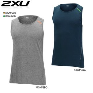 2XU URBAN TANK(アーバン タンクトップシャツ)トレーニングにノースリーブシャツ|golazo
