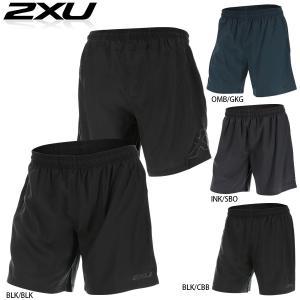 2XU G2 MOMENTUM7 SHORT(G2モーメンタム7インチ丈ショーツ)ライナー付ランニングパンツ|golazo