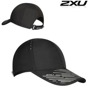 2XU ユニセックス REFLECTIVE PEAK RUN CAP リフレクティブ ランキャップ|golazo