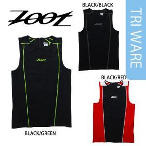Zoot(ズート) メンズ PERFORMANCE TRI BACK ZIP TANK (パフォーマンス TRI バックジップ トライアスロンシャツ)【返品交換不可】|golazo