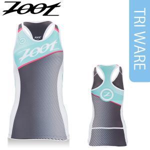 Zoot(ズート) レディース TRI TEAM RACERBACK(トライアスロン チーム レーサーバックトップ) 【返品交換不可】|golazo