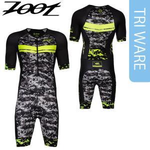 Zoot(ズート) メンズ TRI LTD FRONT ZIP RACESUIT (トライアスロン LTD フロントジップ 半袖レーススーツ) 17FWモデル golazo