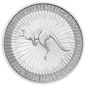 [保証書・カプセル付き] 2021年 (新品) .9999 純銀 オーストラリア・カンガルー・1オン...
