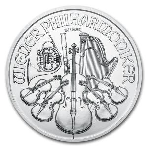 [保証書・カプセル付き] 2021年 (新品) オーストリア ウィーン銀貨 フィルハーモニー 1オン...