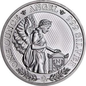 [保証書・カプセル付き] 2021年 (新品) セントヘレナ「ナポレオン・エンジェル」1オンス 銀貨
