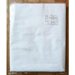 フラットシーツ 送料無料 日本製 綿100% フラットシーツ 約150cm X 250cm 綿 100% 白 シーツ  (ホワイト) 国内縫製品 数量限定品 の写真