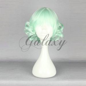 原宿ガール 可愛い ロリータ ライトグリーン ショート 巻き髪 コスプレウィッグ  wig-534a...