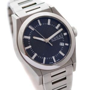 【中古】GUCCI グッチ パンテオン 115.4 ボーイズ 腕時計 クォーツ デイト表示 ディアマ...