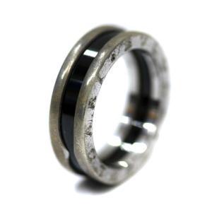 ブルガリ セーブ ザ チルドレン リング・指輪 ユニセックス シルバー925 セラミック 18号 シルバー 中古 送料無料 BVLGARI|goldeco