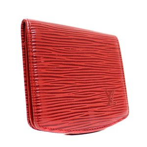 ルイ ヴィトン エピ キュベットスプール 財布 コインケース レディース 型押しレザー カスティリアンレッド M63707 中古 送料無料 LOUIS VUITTON|goldeco